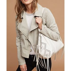 NWOT Anthropologie Utility MotoJacket by Marrakech